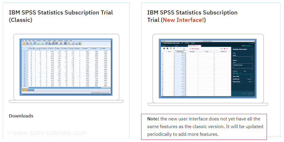 SPSS 26 Download New Old User Interface