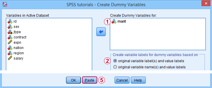 SPSS Tools Example