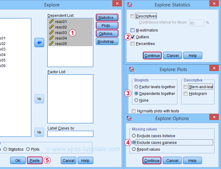 SPSS Find Outliers In Boxplot Dialogs