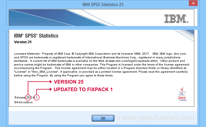 SPSS Find Version Number