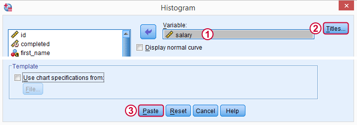 Creating Histograms in SPSS - Quick Tutorial