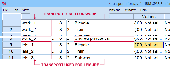 SPSS Varstocases Example Data 208